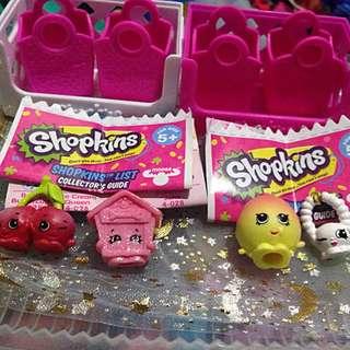 Original Shopkins 4pcs