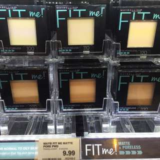 Maybelline Fit Me系列粉餅