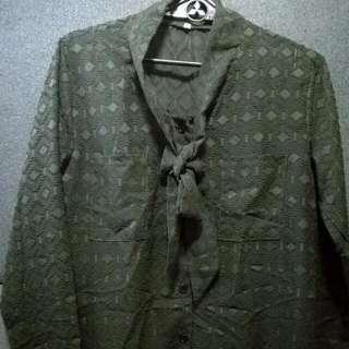 Moose Green Long Sleeves