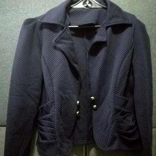 Blue Short Blazer
