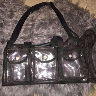 Lime Lilly Makeup Bag