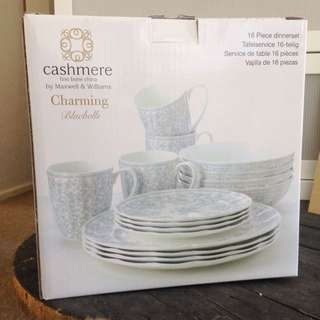 Cashmere Fine Bone China 16 Piece Set