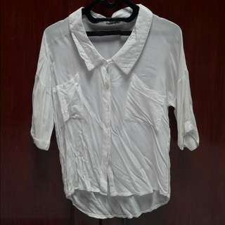Batwing White Shirt