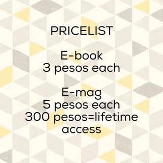 Ebooks And Emagazines