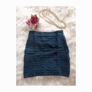 Mini Green Skirt
