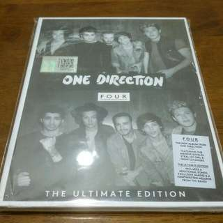 One Direction Four Deluxe Edition CD Brand New Sealed