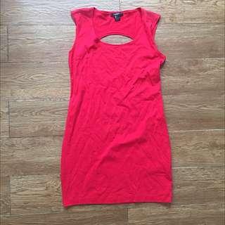 Red Mini Dress Forever 21