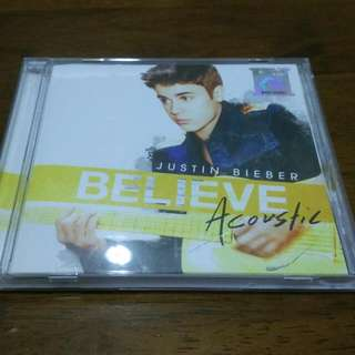 Justin Bieber Believe Acoustic CD New