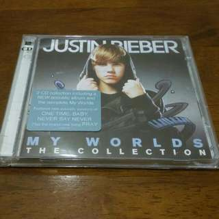 Justin Bieber My World Collectible 2 CD Europe imported