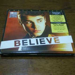 Justin Bieber Believe Deluxe Edition CD New