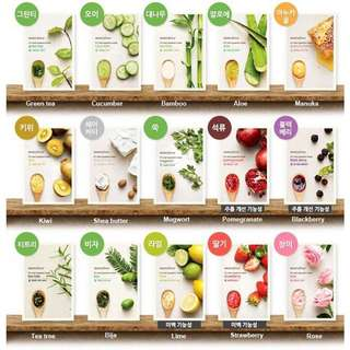 Innisfree It's Real Squeeze Mask Masker Wajah