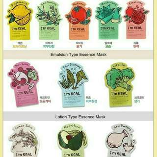 Tonymoly I'm Real Squeeze Mask