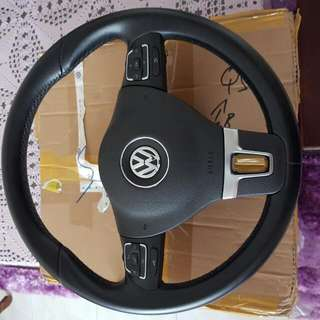 VW Golf MK6 Steering Wheel With Paddle Shifter