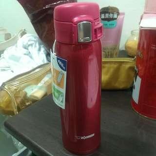 全新 超美 象印桃紅色保溫杯  Sm-sa48-rw