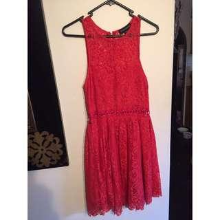 Stylestalker red dress size 10