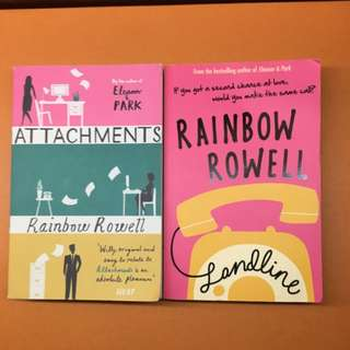 Attachments (sold), Landline By Rainbow Rowell