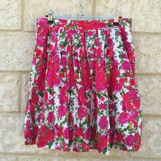 Dangerfield Princess Highway Floral Skirt, Size 12