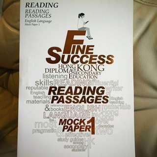 HKDSE reading Mock Paper