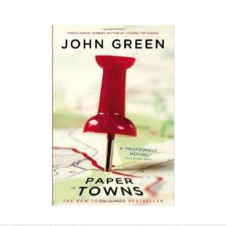 Papertowns Paperback