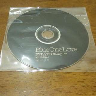 Blue One Love Promo DVD VCD Sampler James Duncan Lee Ryan