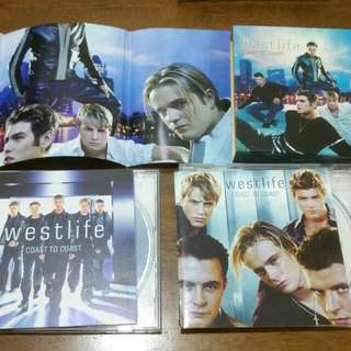 Westlife Coast To Coast 2 CD With Poster