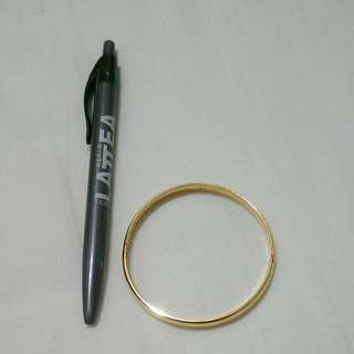 電渡金手環