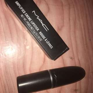 Authentic MAC Amplified Lipstick (Color: Dark Side)