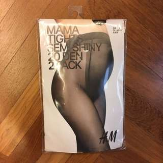 H&M Maternity Tights 20den 2 Pack