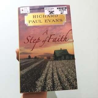 A Step of Faith (Hard Cover)