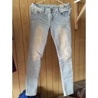 牛仔褲&白褲