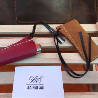Leather Lighter Sleeve