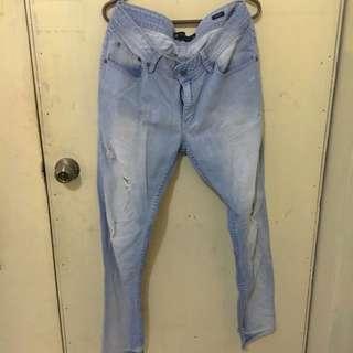 Penshoppe Denimlab Ripped Jeans
