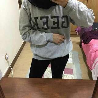 Topshop Geek Sweatshirt
