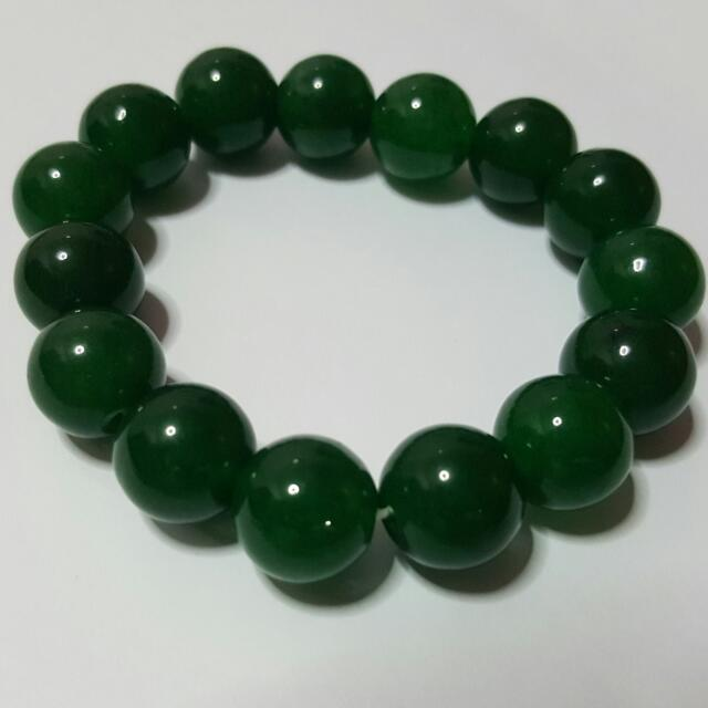 natural art thickbox box default with bangle jade green bracelet sian big chinese index exquisite beautiful luck flat antiquity