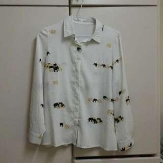 雪紡襯衫#兩百元雪紡