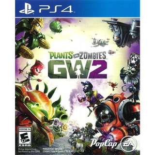 Looking For Plants Vs Zombies Garden Warfare 2 Ps4