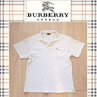 AUTHENTIC Burberry Polo Collar T Shirt
