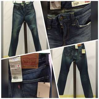 🌟LEVIS 511 - SLIM FIT TAPERED MADE IN JAPAN (100% Authentic)