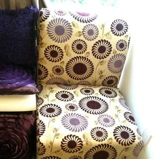 Accent Chair And Cushion