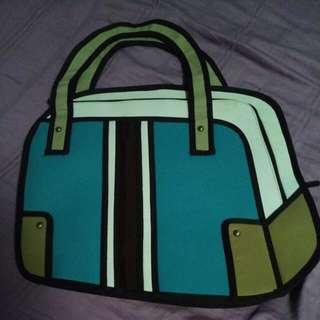 2d/ 3d Cartoon Bag