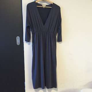 Blue/Grey Urban Outfitters Dress