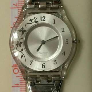 Swatch Thin Floral Watch