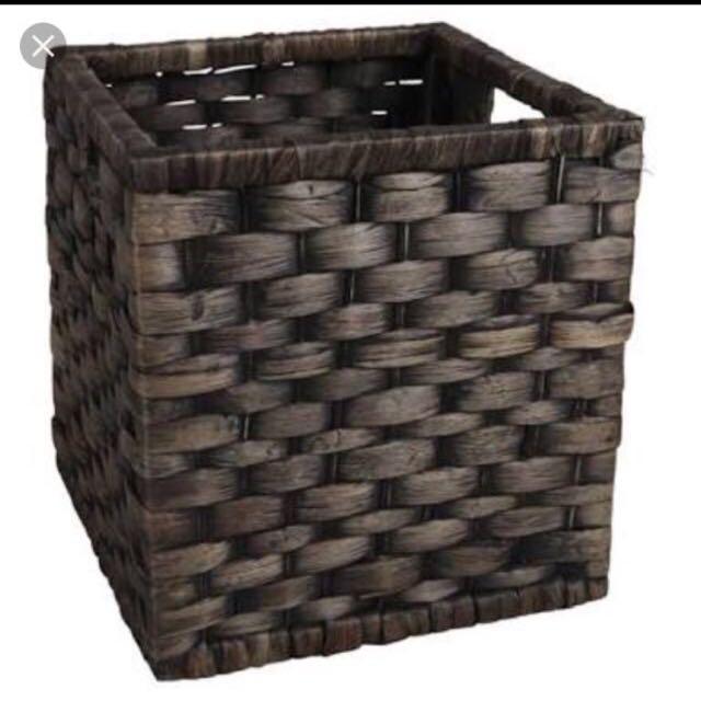 27cm Wicker Basket Square