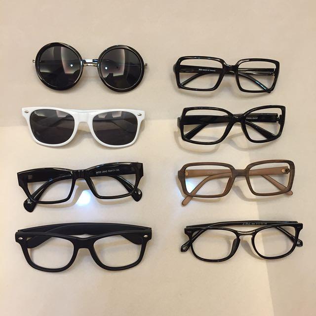 墨鏡 鏡框 粗框 眼鏡