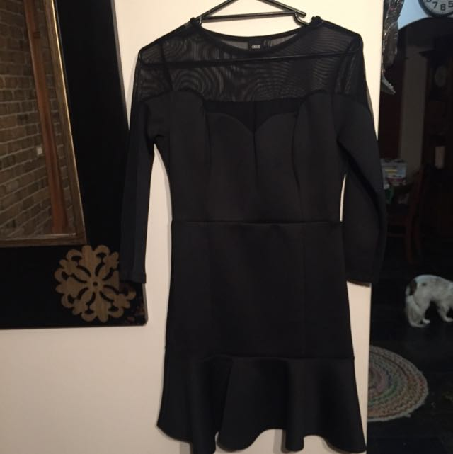 Asos Black dress size 12