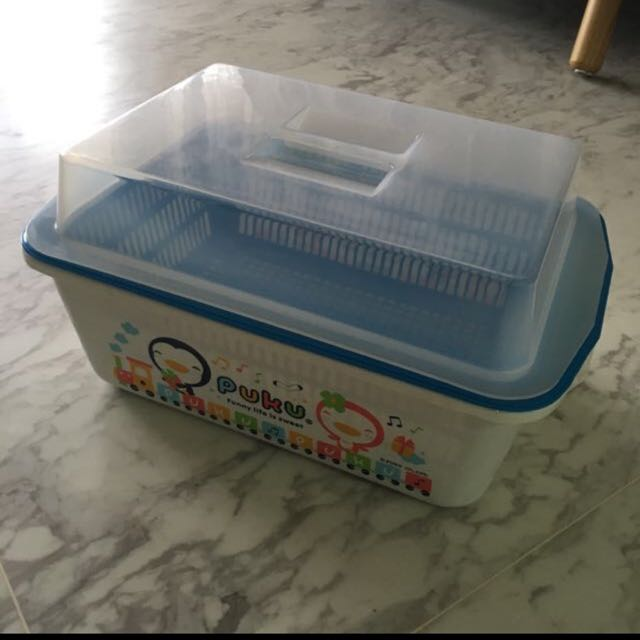 Baby Bottle Storage And Drainer