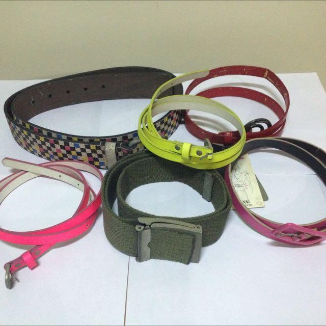 Belt 6 pcs