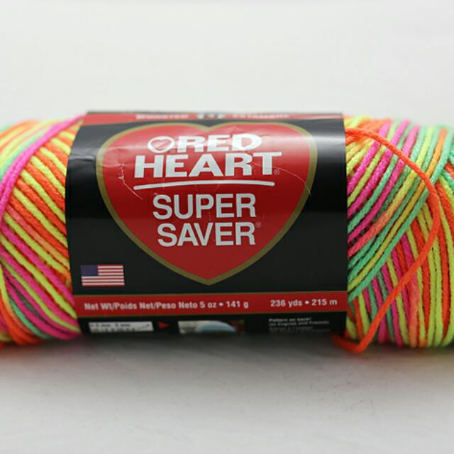 Benang Rajut Red Heart Super Saver