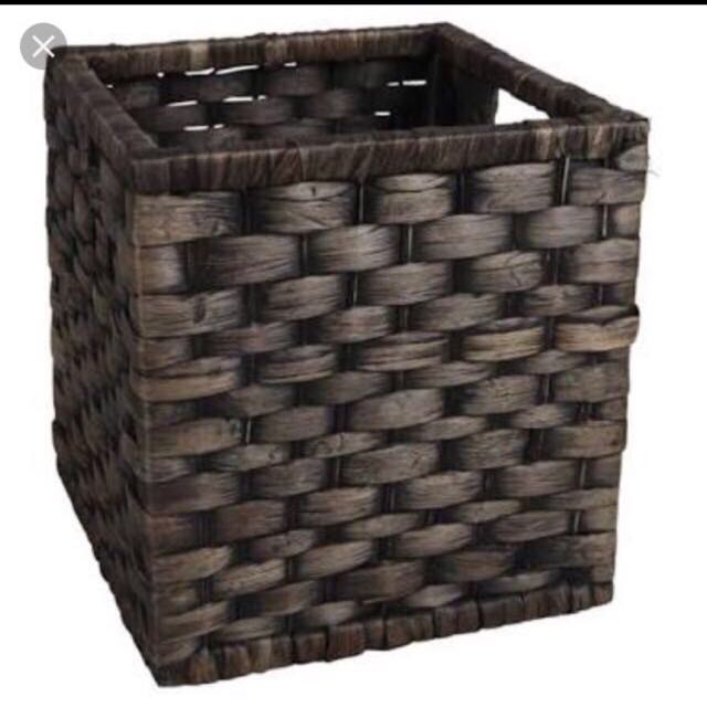 Black Water hyacinth Basket