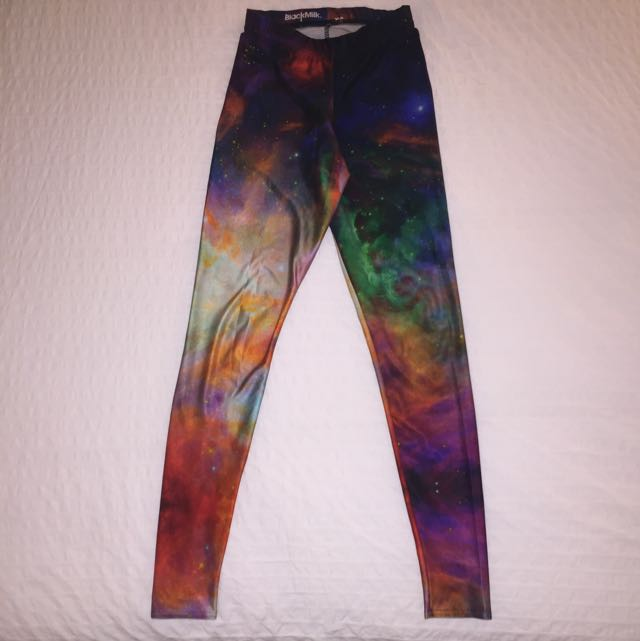 Blackmilk Galaxy Rainbow Leggings